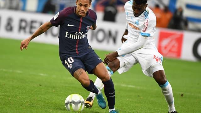 Neymar et Zambo Anguissa