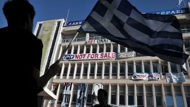 De nombreuses manifestations avaient eu lieu lors de la fermeture de la ERT.