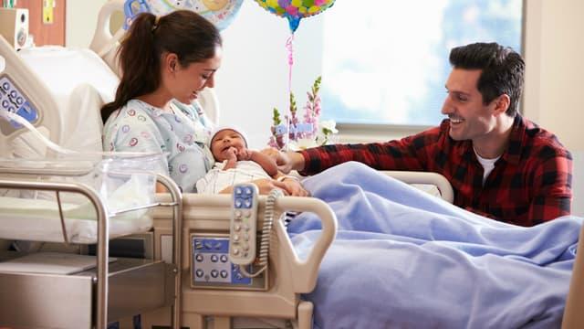 Un accouchement peut être facturé plus ou moins cher selon l'établissement de santé, ou la région.