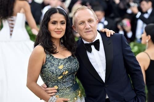 François-Henri Pinault et son épouse l'actrice Salma Hayek