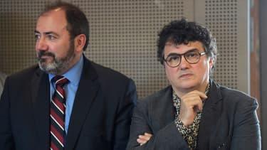 François Braun et Patrick Pelloux, les présidents du Samu et de l'association des urgentistes de France, en septembre 2019