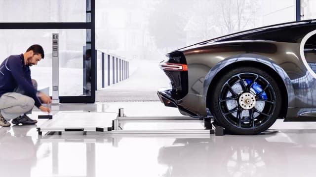 81 Bugatti ont été produites l'année dernière dans l'usine de Molsheim en Alsace.