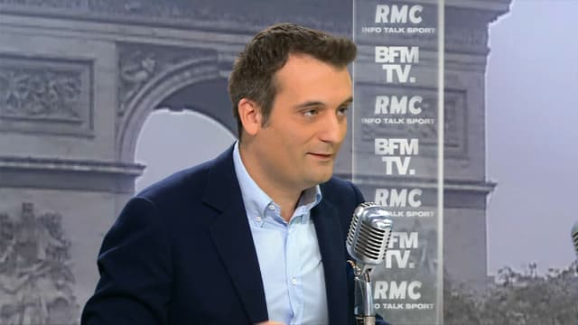 Florian Philippot mardi matin sur BFMTV et RMC.