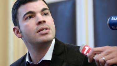 Le maire FN de Hayange, Fabien Engelmann