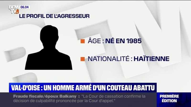 Ce que l'on sait de l'homme armé d'un couteau abattu mercredi à la gare d'Ermont-Eaubonne, dans le Val d'Oise