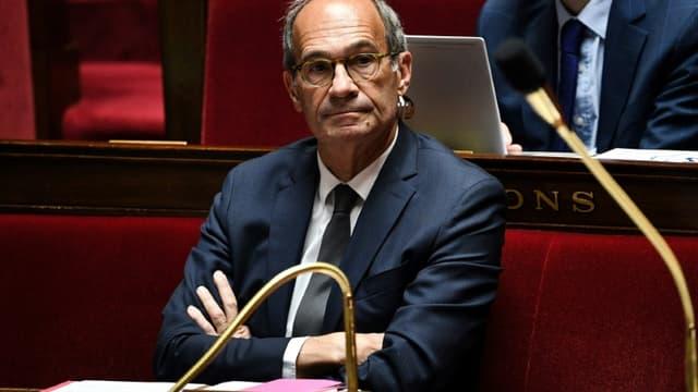 Le député LR Eric Woerth, le 10 juin 2020 à l'Assemblée Nationale à Paris