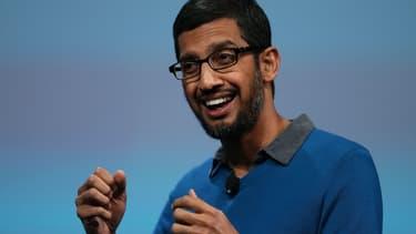 D'origine indienne et âgé de 43 ans, Sundar Pichai prend les manettes de Google