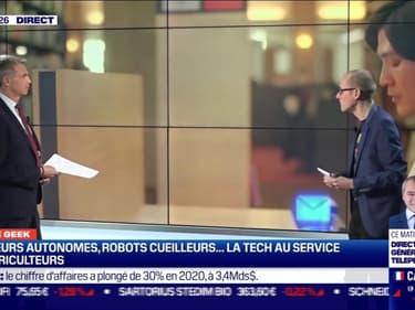 Culture Geek : La tech au service des agriculteurs, par Anthony Morel  - 26/02