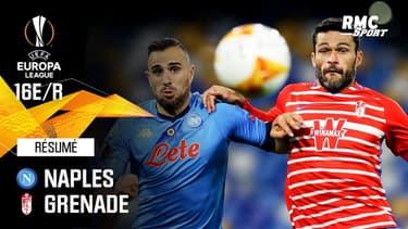 Résumé : Naples 2-1 Grenade (Q) - Ligue Europa 16e de finale retour