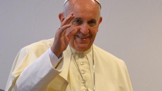 Le pape François, le 16 août 2014.