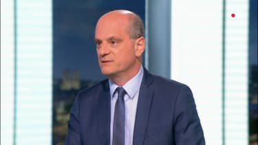 Jean-Michel Blanquer au journal télévisé de France 2 ce mercredi soir.