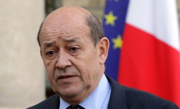 Jean-Yves Le Drian, ministre de la Défense.
