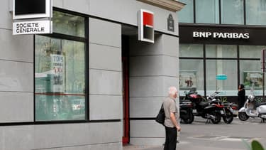 Société Générale va réduire le nombre de ses agences.