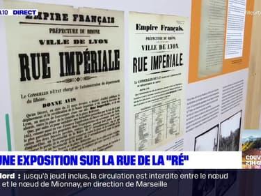 """Lyon: une exposition aux archives municipales retrace l'histoire de la rue de la """"Ré"""""""