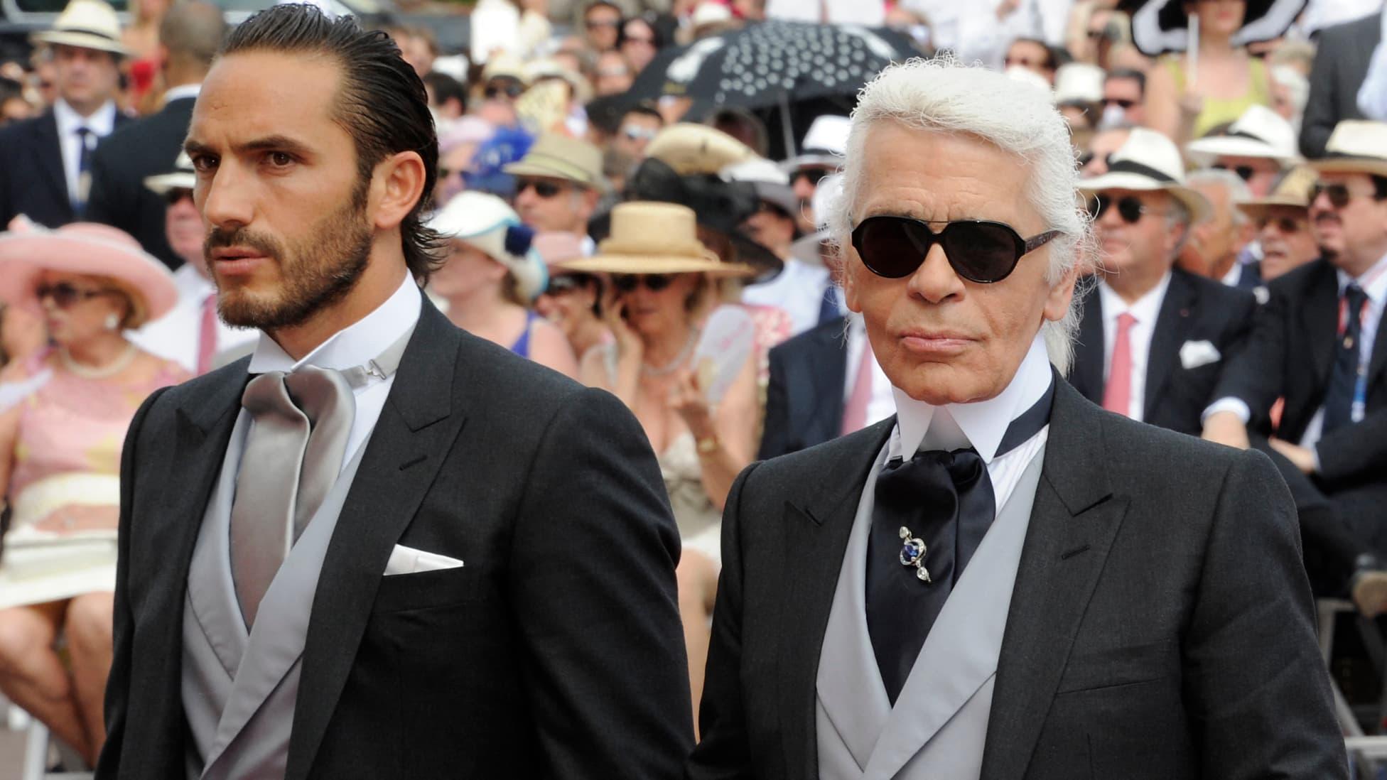 L'ancien garde du corps de Karl Lagerfeld raconte son parcours à ses côtés - BFMTV