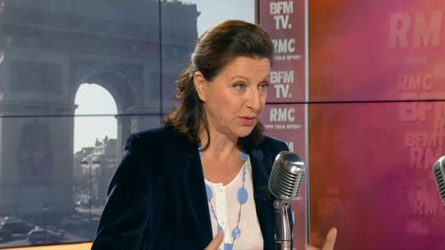 Agnès Buzyn sur BFMTV et RMC, le 21 mars.
