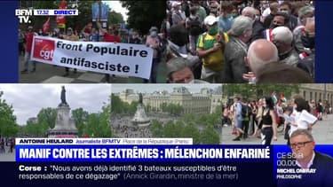 """""""Marche des libertés"""": 9000 manifestants ont défilé à Paris selon la préfecture"""