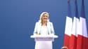 Marine Le Pen à Fréjus, le 12 septembre 2021