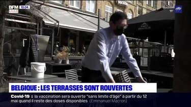 Après presque sept mois de fermeture, les terrasses ont rouvert en Belgique ce samedi