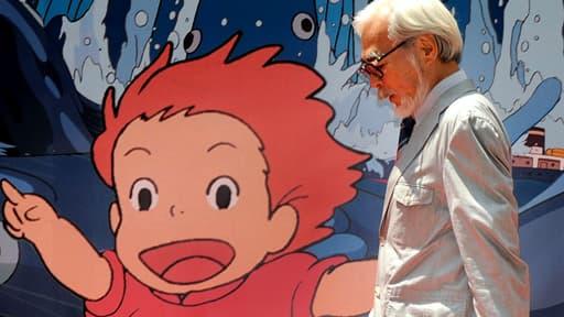 """Hayao Miyazaki est le mythique cofondateur du studio Ghibli, pour lequel il a réalisé, entre autres, """"Ponyo sur la falaise""""."""