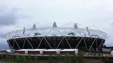 Le Stade olympique où se dérouleront plusieurs épreuves, dans l'est de Londres.