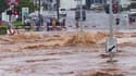 A Toowoomba, important centre urbain à une centaine de kilomètres à l'ouest de Brisbane, où un torrent boueux précédé d'une vague de deux mètres de haut a déferlé lundi. La situation reste préoccupante sur le front des inondations en Australie et Brisbane