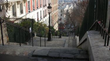 Rue de Montmartre.