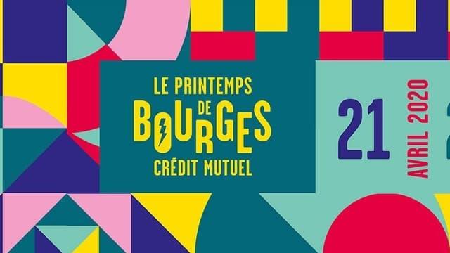 Affiche du Printemps de Bourges 2020