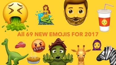 69 nouveaux émoticônes arriveront bientôt sur nos smartphones pour enrichir notre vocabulaire numérique