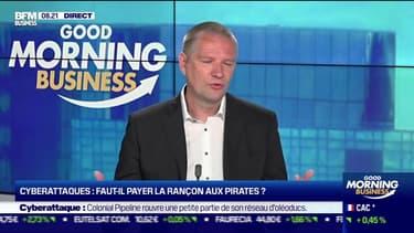 Guillaume Poupard (ANSSI): Cyberattaques, faut-il payer la rançon aux pirates ? - 10/05