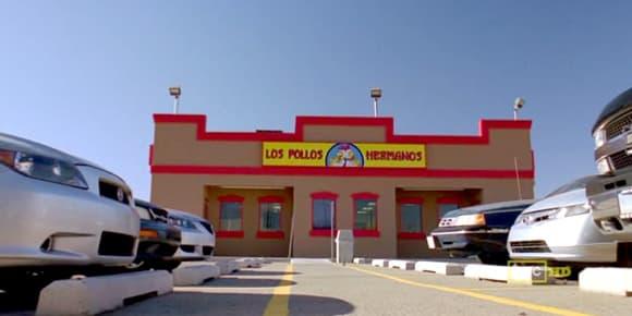 Le fast food tel qu'il apparaît dans la série.