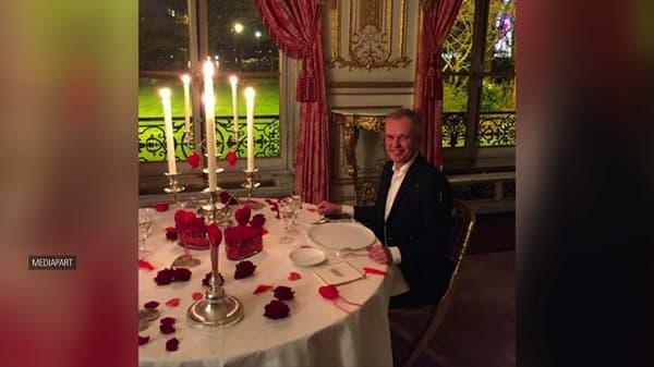 François de Rugy, Saint-Valentin 2018.