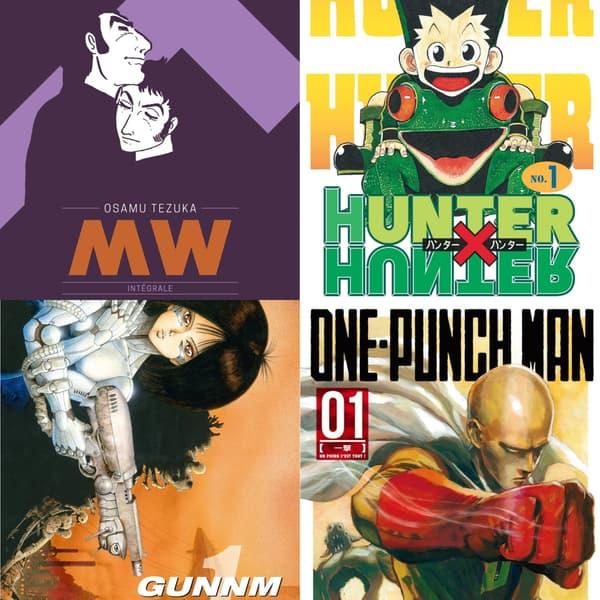 """MW"" d'Osamu Tezuka, ""Hunter x Hunter"", ""Gunnm"" et ""One Punch Man"""