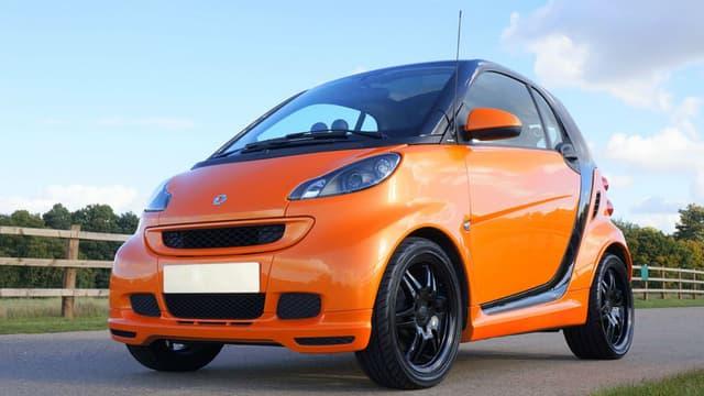 Quelle voiture est la plus volée dans votre département? Au total, en France, cette Smart Fortwo II reste la plus prisée des voleurs.