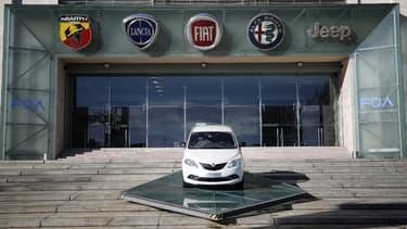Le siège de Fiat Chrysler Automobiles, à Turin, en Italie.