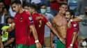 Cristiano Ronaldo après son doublé et son record avec le Portugal
