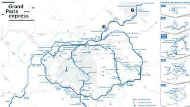 Une partie des lignes du Grand Paris Express ne seront pas prêtes pour 2024.