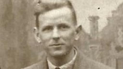 Sam Ledward en 1933, trois ans avant son accident de moto