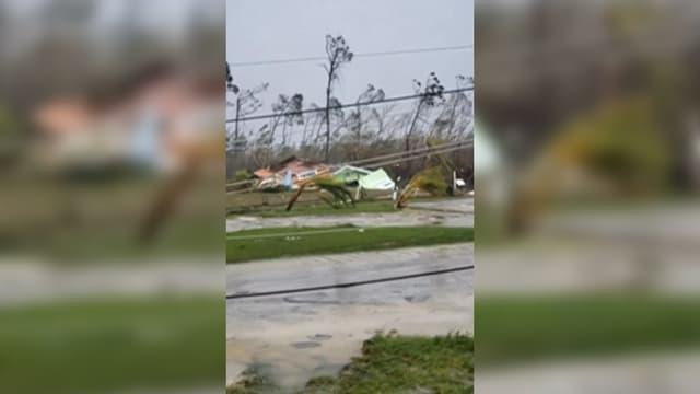 L'ouragan Dorian a laissé derrière lui des dégâts considérables aux Bahamas