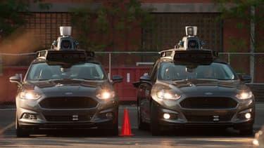Les voitures autonomes d'Uber ont toujours à bord un ingénieur qui peut prendre les commandes à tout moment.