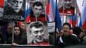 Des dizaines de milliers de personnes ont manifesté à Moscou après le meurtre de Boris Nemtsov.