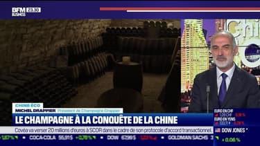 Chine Éco : Le champagne à la conquête de la Chine par Erwan Morice - 10/06