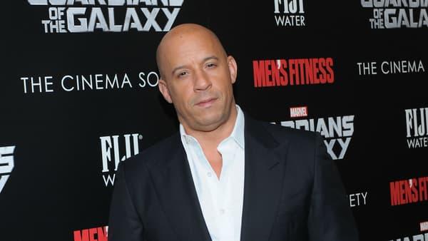 """Vin Diesel à la première des """"Gardiens de la Galaxie"""" (2014)"""