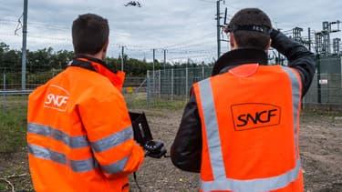 SNCF Réseau vient de lancer Altametris, une nouvelle filiale dédiée aux drones.