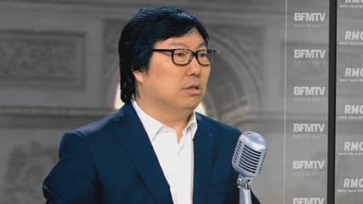 Jean-Vincent Placé, chef de file des sénateurs écologistes