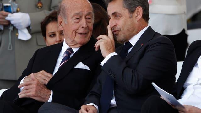 Valéry Giscard d'Estaing et Nicolas Sarkozy bénéficient de nombreux avantages.
