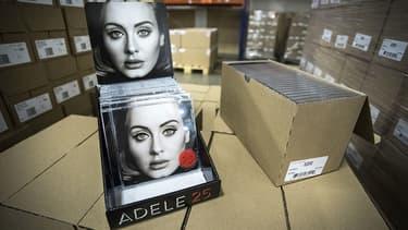 L'album d'Adele, 25, sort ce vendredi. Il ne sera pas présent sur les plate-formes de streaming.
