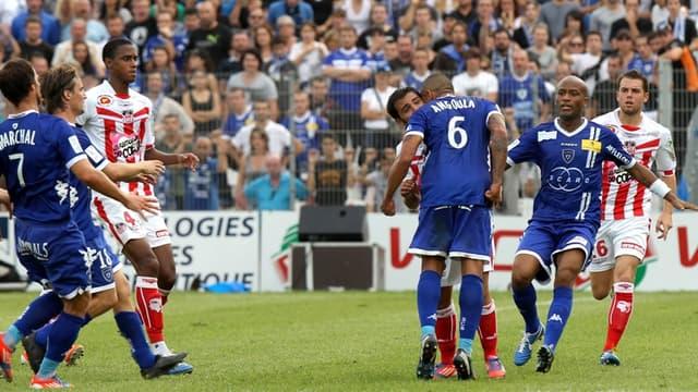 Gaël Angoula et Johan Cavalli