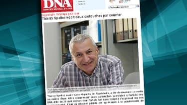 Le maire de la commune de Sigolsheim, Thierry Speteil