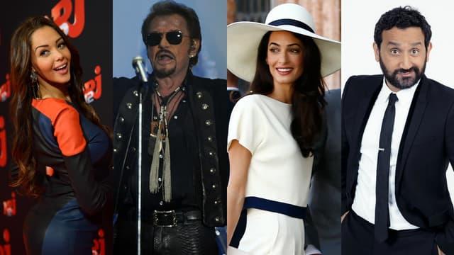 Nabilla Benattia, Johnny Hallyday, Amal Clooney et Cyril Hanouna ont fait l'actualité cette semaine.